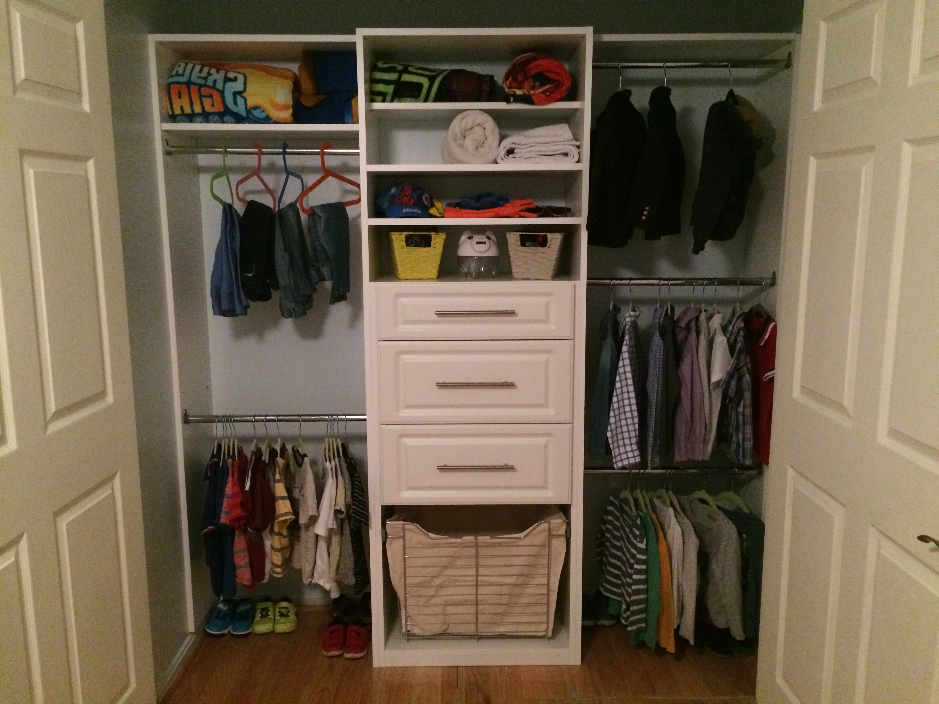 system island systems kids custom long girls organization for closet closets
