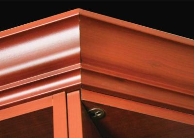 closet-stretchers-cherry-molding-top-finish