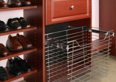 closet-stretchers-cherry-shoe-shelves-drawers-pull-out-basket